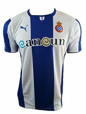Clubs Puma T-shirt RCD Espanyol 2013-2014 Xl-true Blue / White