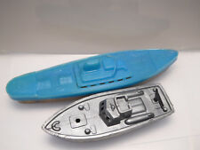 Motorboot Vollkunststoff,ca.5cm Lang,wahrsch.50er Jahre Reisen Steiff