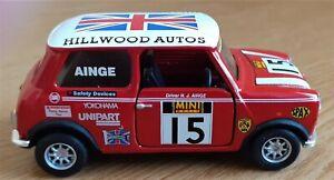 CORGI 1/36 HILLWOOD AUTO'S/AINGE MIGHTY MINI'S RACING MODEL, GOOD COND, RELISTED