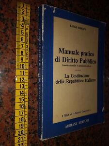 GG LIBRO: MANUELE PRATICO DI DIRITTO PUBBLICO - ADRIANI EDITORI
