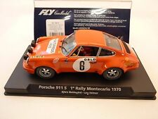 88134 FLY CAR MODELS 1/32 SLOT CARS PORSCHE 911S 1 RALLYE MONTECARLO 1970