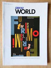 FIAT WORLD 1986 UK Mkt magazine brochure - Edition 9 - Regata Croma 500 Topolino