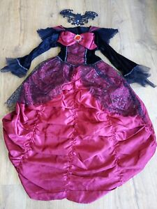 (#e11) Girls Evil Queen Age 7-8 Years Costume ❤️ Benefits Charity ❤️