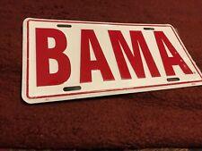 Bama licensed car or truck tag