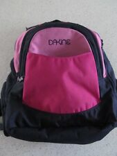 Pink and Black DaKine Backpack approx 20 Litre