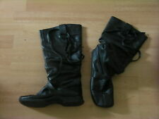 Knee High Boots 100% Leather Pull On Shoes for Women NEXT