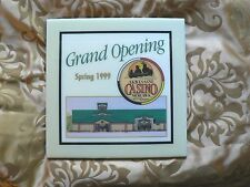 AKWESASNE MOHAWK CASINO SPRING 1999 Grand Opening  CERAMIC TILE A.R.T.Co. .