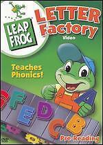 LeapFrog: Letter Factory (DVD, 2003) NEW
