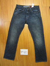 Used Sign Authentics slim straight fit levi's jean tag 32x32 meas 32x32 V5185