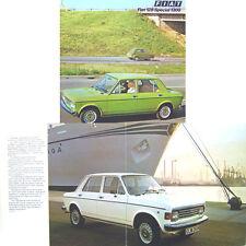 Fiat 128 1300 Special 1975-76 Original UK Sales Brochure