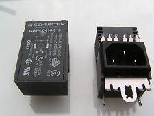 Schurter GRF4.0416.013 Mains Filter Panel Mount IEC Inlet 250VAC 6A OM0401