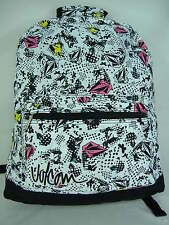 New Womens Girls VOLCOM Cosmic Faun Surf Backpack Book Bag