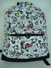 New Womens Girls VOLCOM Cosmic Faun Surf Backpack Book Bag