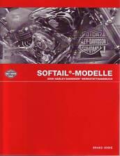 HARLEY-DAVIDSON Werkstatt Handbuch 2009 Softail FLST DEUTSCH 99482-09DE Buch NEU