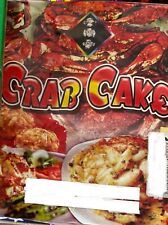 CRAB CAKE Firework Cake Label Only Loud and Color No Combustibles Art Label