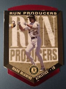 Mark Mcgwire 1996 Upper Deck Run Producers #RP12 Oakland A's