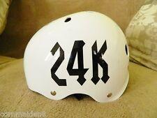 Custom Roller Derby Vinyl Sport Helmet Decal Number ONLY