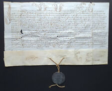 Pope Innocent XII  Parchment bulla Dated Rome  1699 with Lead Seal