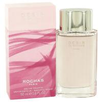 Desir De Rochas by Rochas Eau De Toilette Spray 1.7 oz for Women