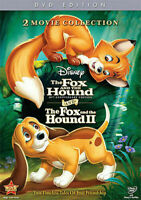 The Fox and The Hound I & II (DVD, 2011, 2-Disc Set, 30th Anniversary)  New!