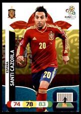 PANINI EURO 2012 ADRENALYN XL - España SANTI CAZORLA (carte de base)