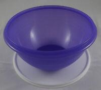 Tupperware Wunderschüssel 2,5 l Schüssel mit Deckel Blaulila Lila / Weiß Neu OVP