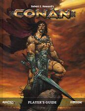 Modiphius: Conan RPG Conan Player's Guide HC New -BN