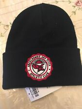MENS ABERCROMBIE & FITCH NAVY BEANIE HAT ONE SIZE ATHLETIC CLUB