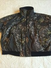 Cabela's Mens Fleece Lining Insulated Camo Jacket Size XL Zipper Pockets