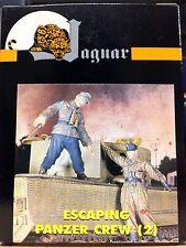Jaguar 1/35 Escaping Panzer Crew 2 (Resin Figures) - 63040