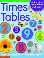 TIMES TABLE STICKER BOOK (Sticker Books), Chez Picthall, Good Used  Book