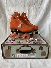 New listing READY TO SHIP Moxi Lolly Roller Skates Clementine Size 6 (Women's 7-7.5)