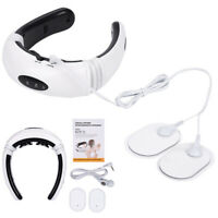 Electric Pulse Neck Massager Magnetic Therapy Vertebra Treatment RELIEF 6 modes