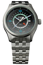 TRASER H3 Men's watch P59 Aurora GMT Anthracite Steel band 107232