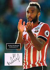 Nathan REDMOND SIGNED Autograph 16x12 Photo Mount AFTAL COA Southampton FC