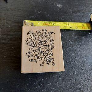 PSX E-014 Floral Bouquet Rubber Stamp