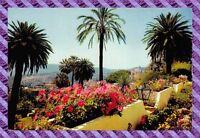 CPA 06 - GRASSE - les jardins fleuris et le vieille ville