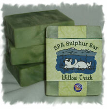 Spearmint & Lavender _ Willow SPA Sulphur Mineral  Soaps Made in Montana
