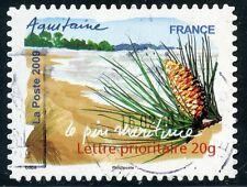 TIMBRE FRANCE AUTOADHESIF OBLITERE N° 309 / FLORE DU SUD / LE PIN MARITIME