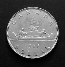 1968- Canadian 1$ Dollar Canada Nickel Coin One