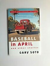 Baseball in April and Other Stories SIGNED Gary Soto, Sports, California, Latino