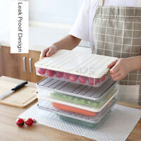 Food Sealed Cans Refrigerator Plastic Storage Keep Fresh Home Kitchen Container