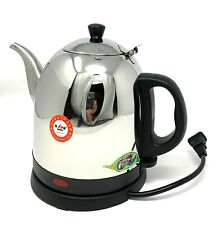 Haopai Stainless Cordless Electric Water Kettle Heater Pot 120V 1.2 Liters K-180