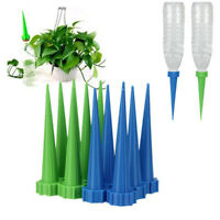 12Pcs Garden Automatic Watering Irrigation Spikes Plant Flower Bottle Drip Good