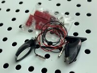 1:10 RC LED Mirror Set Body Karosserie Gehäuse Spiegel Blinker Kit Tamiya Drift
