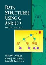 Data Structures Using C and C++ by Aaron M. Tenenbaum 2nd Edition HARDCOVER