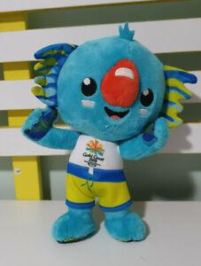 BOROBI PLUSH TOY COMMONWEALTH GAMES BLUE KOALA MASCOT TOY 21CM