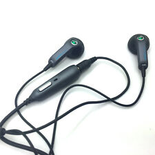 Sony Ericsson HPM-64 HPM64 In-Ear Only Stereo Headphone Headsets- Dark Grey