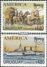Uruguay 2059-2060 (complete.issue.) unmounted mint / never hinged 1994 Postal de