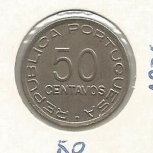 MOZAMBIQUE PORTUGAL 50 CENTAVOS 1936